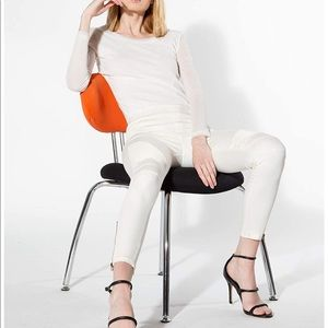 🔥SALE - Beulah Jeggings white, Slimming